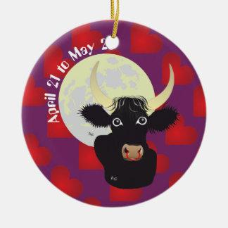 Taurus April 21 to May 20 Ornament