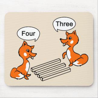Täuschungs-TrickFox Mousepad