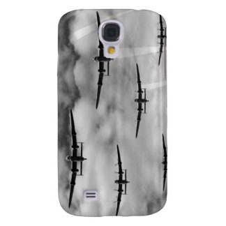 Tausend Bomber-Überfall Galaxy S4 Hülle