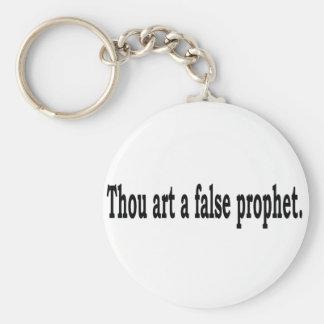 Tausend-Kunst ein falscher Prophet Schlüsselanhänger