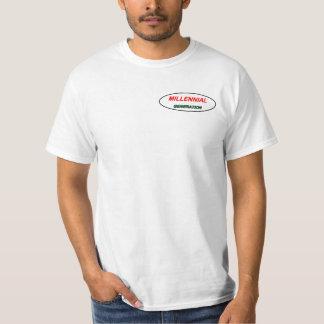 Tausendjähriges T - Shirtlogo. Generation-y T-Shirt