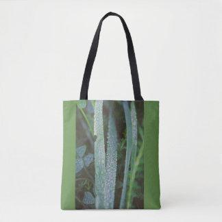 Tautropfen des Grases Tasche