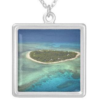 Tavarua Insel und Korallenriff, Mamanuca Inseln Versilberte Kette