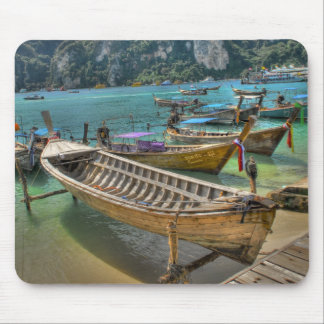 Taxi-Boot in Phuket Thailand Mousepad