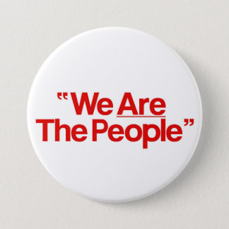 """Taxi Driver """"We Are The People"""" Runder Button 7,6 Cm"""
