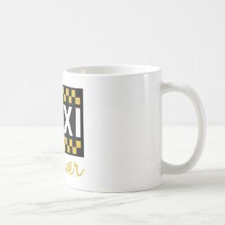 Taxi-Fahrer Kaffeetasse
