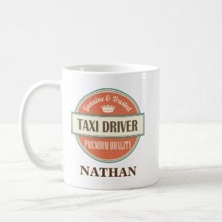 Taxi-Fahrer-personalisiertes Büro-Tassen-Geschenk Tasse