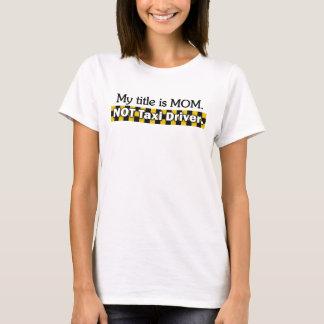 Taxi-Fahrer T-Shirt