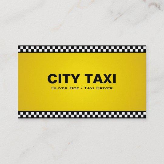 Taxi Fahrer Visitenkarten Visitenkarte Zazzle De
