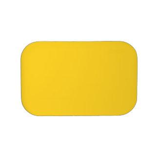 Taxi-gelber saurer zitronengelber im Norden Brotdose