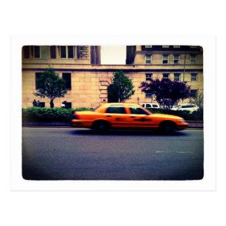 Taxi Postkarte