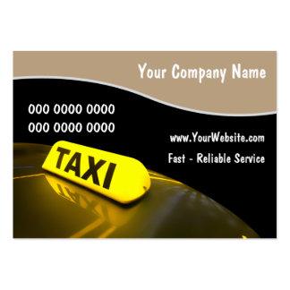 Taxi-Visitenkarten Jumbo-Visitenkarten