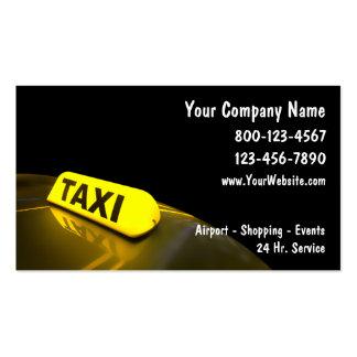 Taxi Visitenkarten