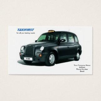 Taxi-Visitenkarten Visitenkarte