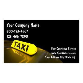 Visitenkarten für Taxifahrer