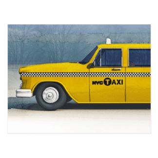 Taxikarte Postkarte