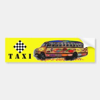 Taxikleinbus Marienkäfer Autoaufkleber