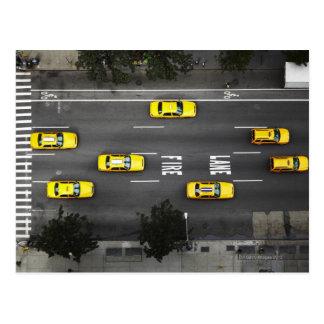 Taxis Postkarte