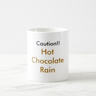 tay zonday Schokoladen-Regen Kaffeetasse