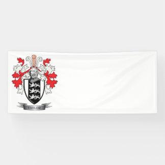 Taylor-Familienwappen-Wappen Banner