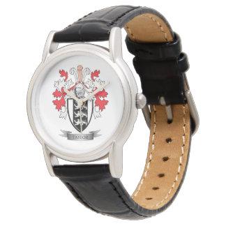 Taylor-Familienwappen-Wappen Uhren