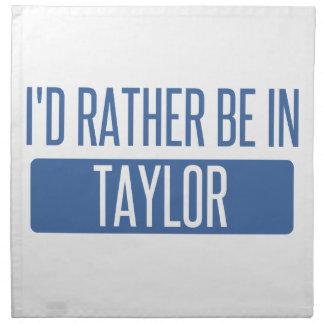 Taylor Serviette