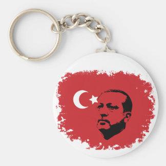 Tayyip- ErdoganLiebe Standard Runder Schlüsselanhänger