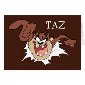 TAZ™, das durch Seite birst Karte