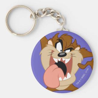 TAZ™ |, das heraus seine Zunge haftet Schlüsselanhänger