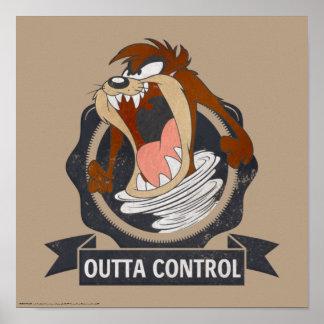 TAZ™ Outta Kontrolle Poster