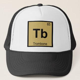 TB - Trombone-Musik-Chemie-Periodensystem Truckerkappe