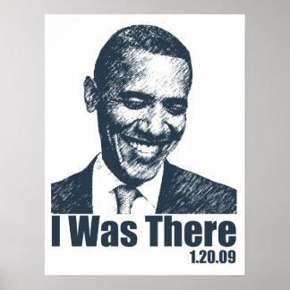 {TBA} ICH WAR DORT! Obama-Einweihungs-Geschichte Poster