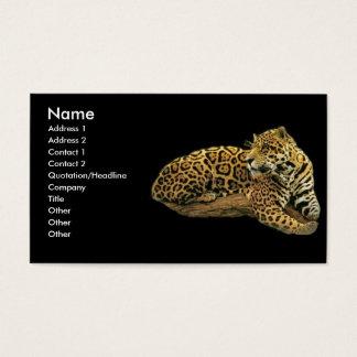 - TBA - Jaguar Visitenkarte