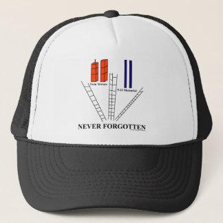 Tba-Sieger!  ERINNERN Sie sich an Gedenkhut 9-11 Truckerkappe