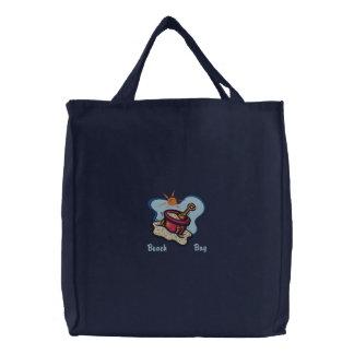 TBA* Strand-Tasche für Bestickte Tragetasche