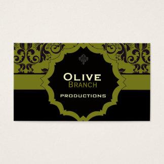 <TBA WINNER>Olivgrüner Saft Visitenkarte