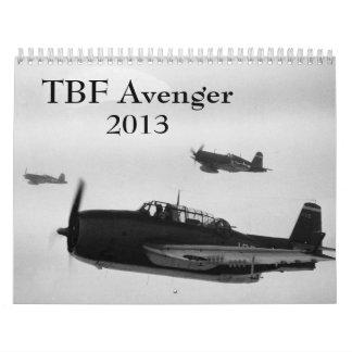 TBF Rächer-Kalender Abreißkalender