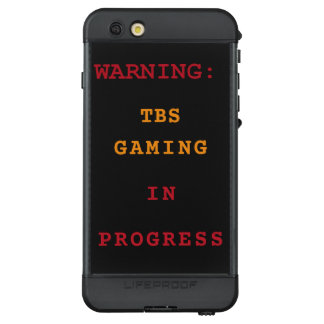 TBS Spiel laufend LifeProof NÜÜD iPhone 6s Plus Hülle