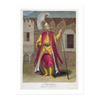 Tchorbadji, Kapitän der Janissaries, 18. centu Postkarte