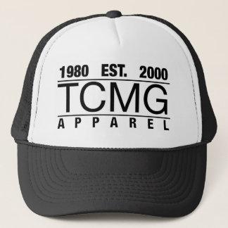 TCMG - Schwarzes Truckerkappe