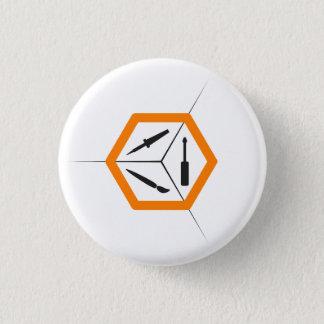 TCMS Knopf - Kleinlicht Runder Button 2,5 Cm