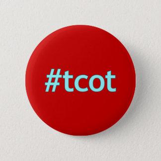#tcot tweeten Blau Runder Button 5,1 Cm