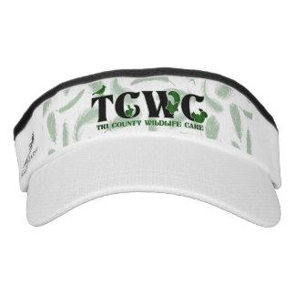 TCWC Logo-Grün-Federn Visor