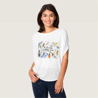 TCWC Singvögel auf Weiß T-Shirt