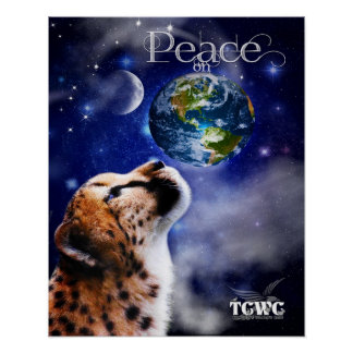 TCWC - WeltfriedenCheetah Poster