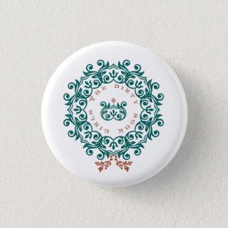 TDBG WeihnachtsButton Runder Button 2,5 Cm