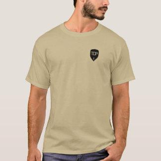 TDP - Brown-T - Shirt - ergreifen Sie ein Buch und