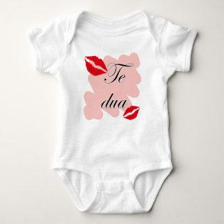 Te DUA - Albanisch - i-Liebe Sie Baby Strampler