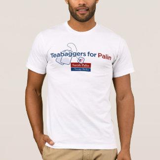 Teabaggers für Palin T-Shirt