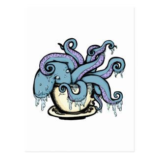 Teacuptopus Postkarte